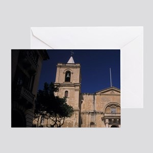 St. John's Cathedraln, Malta, Vallet Greeting Card