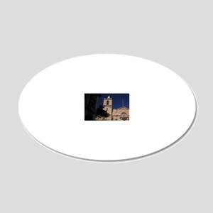 St. John's Cathedraln, Malta 20x12 Oval Wall Decal