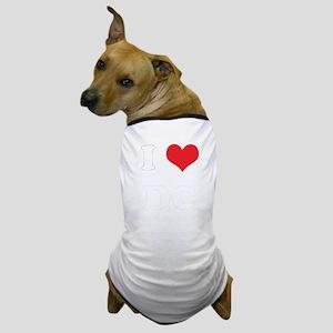 I Heart DC Dog T-Shirt