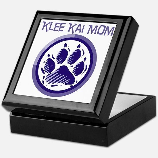 Klee Kai Mom Keepsake Box