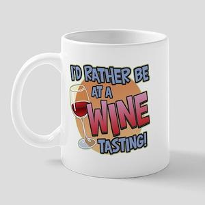 Rather Be Wine Tasting Mug