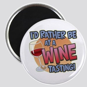 Rather Be Wine Tasting Magnet