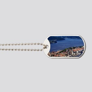 Norway, View of Bergen from Mount Floyen Dog Tags