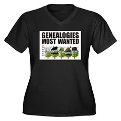 Genealogies Most Wanted Plus Size T-Shirt