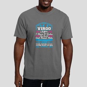 Virgo Men I Have 3 Sides Quiet Sweet Fun C T-Shirt