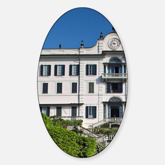 Clerici family villa and museum Vil Sticker (Oval)