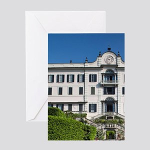 Clerici family villa and museum Vill Greeting Card