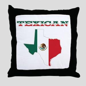 Texican Throw Pillow