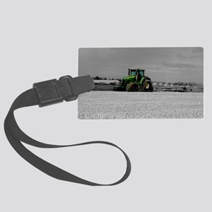 Working the Fields Large Luggage Tag