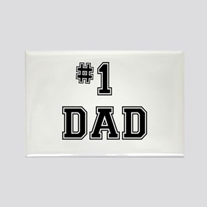 #1 Dad Magnets