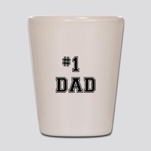 #1 Dad Shot Glass