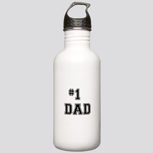 #1 Dad Sports Water Bottle