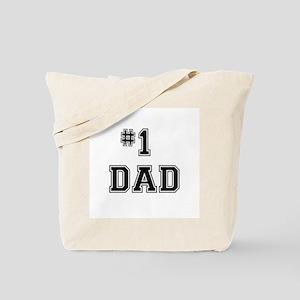#1 Dad Tote Bag