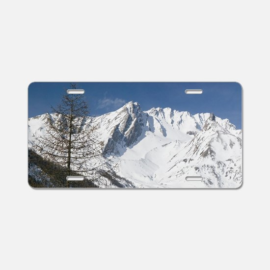 COLLE DEL GRAN SAN BERNARDO Aluminum License Plate
