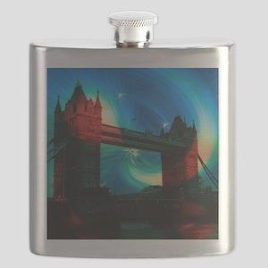 london tower bridge effects Flask