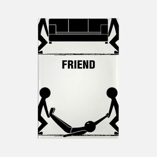 friends Rectangle Magnet