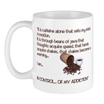 Caffein Mantra Coffee Mug