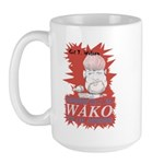 Gil T. Wilson on WAKO large coffee mug