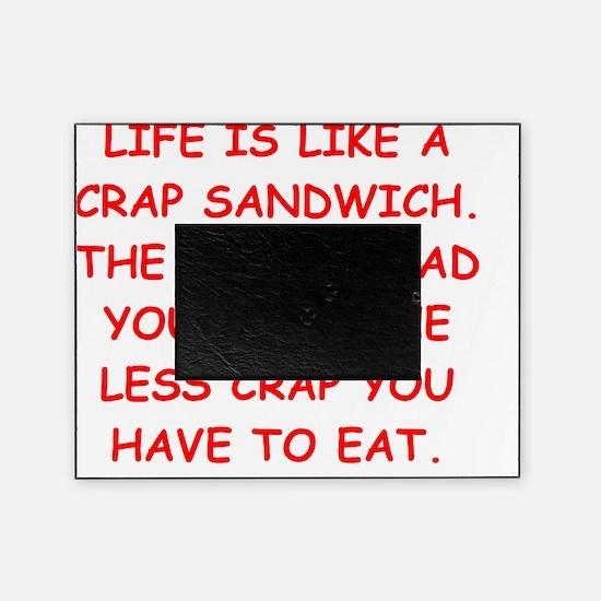 CRAP sandwich Picture Frame