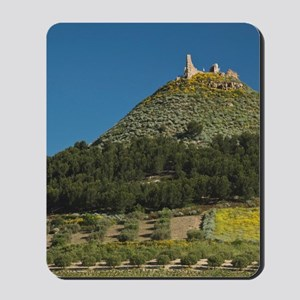 12th century conical fortress Castello d Mousepad