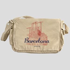 Barcelona_7x7_LaSagradaFamilia_Brown Messenger Bag