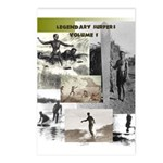LEGENDARY SURFERS Postcards (Package of 8)