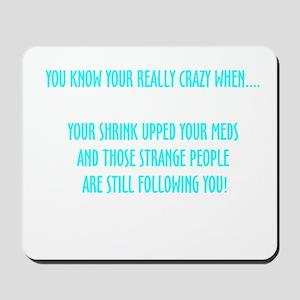 Really Crazy Mousepad