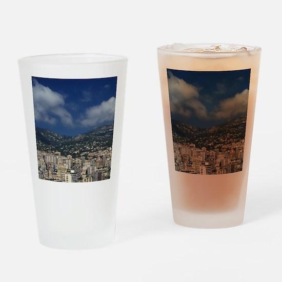 Monaco, Cote d'Azur, Montecarlo. Drinking Glass