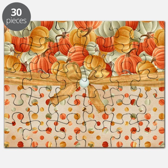 Fall Pumpkins Puzzle