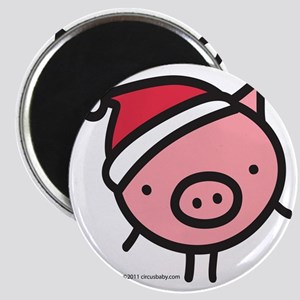 pig_santa Magnet