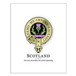 Flower of Scotland Small Poster