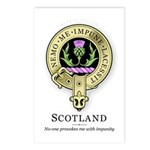 Flower of Scotland Postcards (Package of 8)