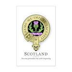 Flower of Scotland Mini Poster Print