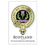 Flower of Scotland Large Poster