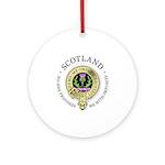 Flower of Scotland Ornament (Round)