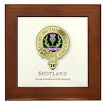 Flower of Scotland Framed Tile
