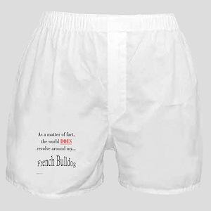 Frenchie World Boxer Shorts