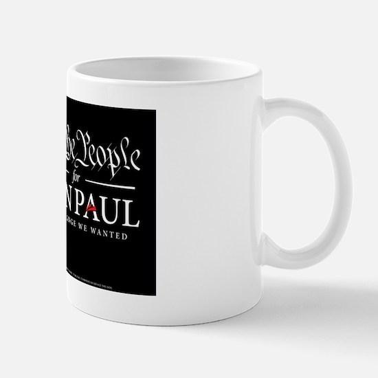 we the [people for Ron Paul 2012 Mug