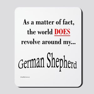 German Shepherd World Mousepad