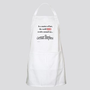 German Shepherd World BBQ Apron