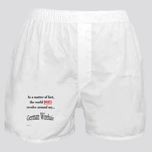 Wirehaired World Boxer Shorts