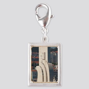 Monument of the Discoveries, Silver Portrait Charm