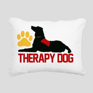 redtherapy Rectangular Canvas Pillow