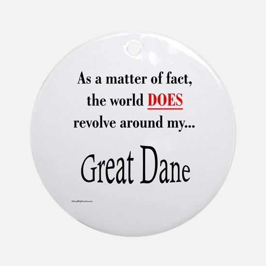 Dane World Ornament (Round)