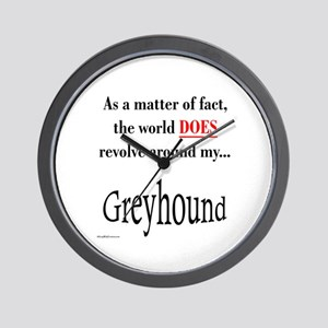 Greyhound World Wall Clock