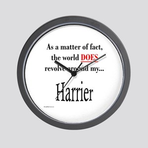 Harrier World Wall Clock