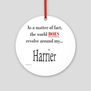 Harrier World Ornament (Round)