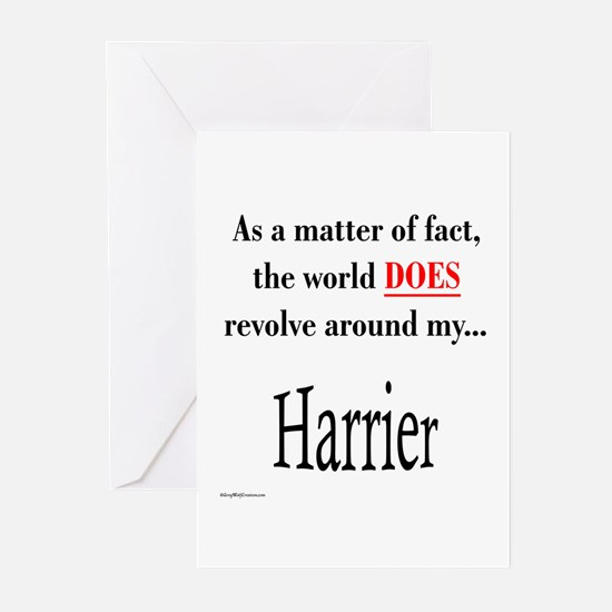 Harrier World Greeting Cards (Pk of 10)