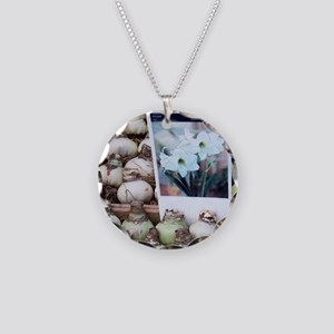 Amaryllis bulbs at the Bloem Necklace Circle Charm