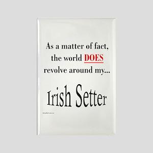 Irish Setter World Rectangle Magnet